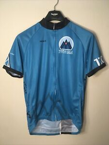 Triple Bypass Gravity Haus Team Evergreen Used primal cycling jersey mens large