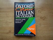 The Oxford Colour Italian Dictionary Over 50000 words and phrases Language Learn
