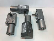 LOT OF 4 DC 12V 5000/15RPM 8x12mm Shaft Electric Power Geared Motor JSX330-370