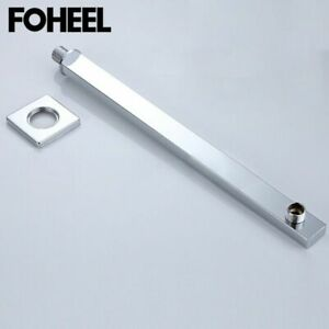 Shower Head High Pressure Extension Arm Wall Hanging Concealed Bathroom Rod