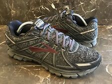 Mens Brooks Adrenaline GTS 17 1102411D015 Charcoal Black Running Shoe Size 12 M