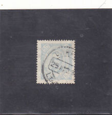 @ Angola D. Carlos I 50 Reis (1893-94) Variety Perf. 13,5 Not Listed @