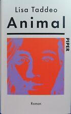 Animal   Lisa Taddeo  Gebzndene Ausgabe  Gebraucht 1A