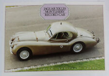 Jaguar xk120 MONTHLERY RECORD CAR DAIMLER Heritage Trust prospectus 5.1 1148 dl12