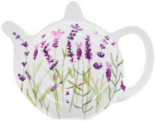 purple lavender Teabag Tidy tray