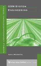 GSM System Engineering by Asha K. Mehrotra (English) Hardcover Book