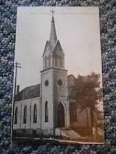 Old Vintage Postcard St. John's Lutheran Church West De Pere Wisconsin Green Bay