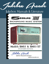 Seeburg 1000 BMS1 & BMS1XT Rare Engineers Manual, Jukebox Arcade Exclusive
