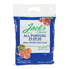 Jack's Classic 10lb All Purpose 20-20-20 Plant Fertilizer Jacks Prodessional