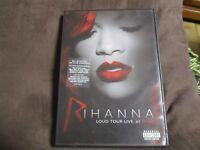 """DVD """"RIHANNA : LOUD TOUR LIVE AT THE O2"""" concert"""