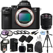 Sony Alpha a7II Mirrorless Digital Camera with FE 28-70mm f/3.5-5.6 OSS Lens KIT