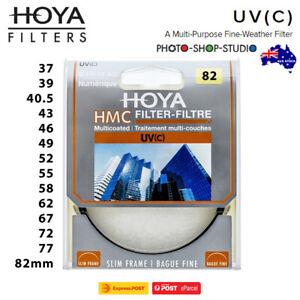 AU STOCK  *Hoya HMC UV (C) UV Filter (Multicoated)   37- 82mm