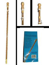 6' Adjustable Telescoping Wood Grain Steel Flagpole Flag Pole