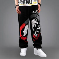 2019 Mens Pure cotton Pants trousers New Ecko HIP HOP SkateBoarding Sweat Pants