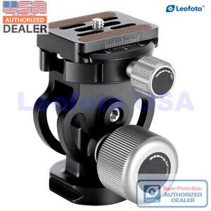 【USA Dealer】LEOFOTO VH-10S Monopod Two Way Tilt Head Arca/RRS Compatible w Large