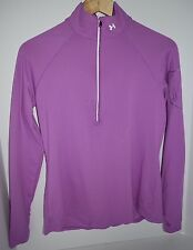 Under Armour Women's Fitted Mock 1/2 Zip Size Large