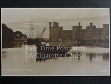 c1913 RP Carnarvon Castle - Wonderful image showing moored ships - Judges Ltd