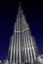 A View of Burj Khalifa in Dubai, UAE Journal : 150 Page Lined Notebook/diary...