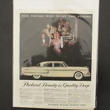 Vintage Packard Magazine Ads Advertising 1954 American Automobiles Retro 13x10