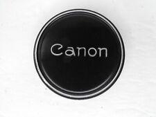 #2 Canon 58mm Slip On Metal Front Camera Lens Cap FL & Rangefinder Lenses