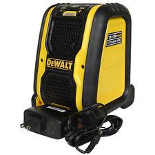 New Dewalt DCR006 12-20V Jobsite 4.0 Bluetooth Speaker uses DCB120 DCB203