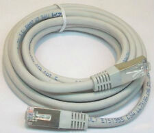 (Lot Of 6) 10 Ft. CAT 5 INTERNET ETHERNET PHONE PATCH CORD EXTENSION CABLE