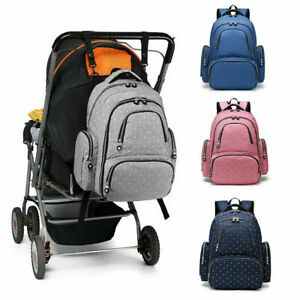 Backpack Multi-Function Baby Nappy Diaper Wipe Rucksack Mummy Changing Bag