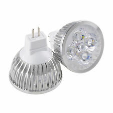 MR16/GU5.3 12W LED Spotlight 4x3W Light Bulb Warm Cool White Lamp 12V Power