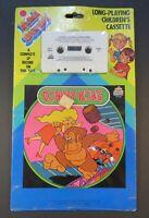 1983 Nintendo Donkey Kong Goes Home Cassette Tape Unused Still Sealed Kid Stuff