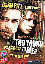 Too Young To Die [1990] [DVD] Juliette Lewis, Brad Pitt, Brand New Sealed