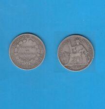 INDO-CHINE   Piastre de commerce en argent 1907 Silver coin
