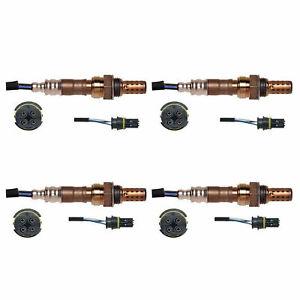 For 98-03 Mercedes-Benz ML320 O2 Oxygen Sensor 1 2 Upstream Downstream 02 4PCS