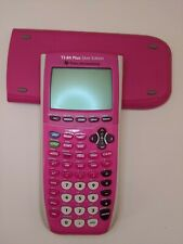 Texas Instruments TI-84 Plus Silver Edition Graphing Calculator (Pink) and Cover