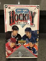 (1) 1991-1992 Upper Deck Hockey French Low SeriesWax Box 36 Packs Factory Sealed