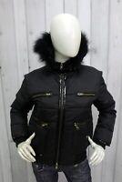 FAY Donna Taglia M Giubbotto Nero Jacket Invernale Giubbino Woman Piumino Italy