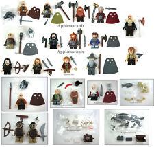 LEGO The Hobbit ORCS + WARGS + COMPLETE SET COMPANY OF DWARVES - 22 Minifigures