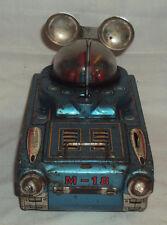 Old Very Rare vintage 1960s Japanese NOMURA TN tinplate SPACE TANK M 18 Tin toys