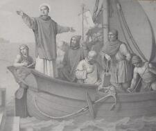 Voyage Saint Brendan Abt Kloster Clonfert Irland Kelten Mönch Seefahrer Ireland