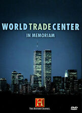 WORLD TRADE CENTER: IN MEMORIAM (HISTORY CHANNEL) 9/11 NEW AND SEALED