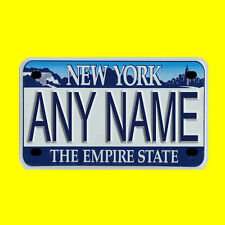 Custom Personalized motorcycle license plate, scooter license plate, moped plate
