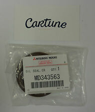 Genuine Mitsubishi EVO 7/8/9 Front Crankshaft Seal OEM MD343563
