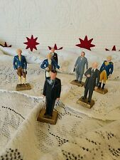 Vintage Lot of 7 Marx Toys~Presidents~Nixon & More  ~Great Collection~Free Ship!