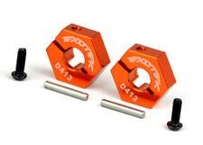 Exotek 1500 12MM REAR CLAMPING HEX SET D4 : D418 / D216