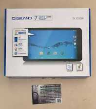 """Tablet DigiLand 7 """" Quad Core 1.3GHZ DL703QR 1GB RAM 8GB ROM Wifi Bluetooth 3G"""