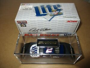 1998 Nascar Miller Lite RUSTY WALLACE 1:64 Scale Stock Car 50th Annivsary W/ Box