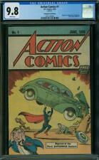 Action Comics #1 CGC 9.8 DC 1976 Reprint 1st Superman! Safeguard! K4 356 cm