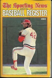 1983 The Sporting News Baseball Register