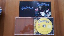 GENTLE GIANT RARE LIVE CD SOUDBOARD
