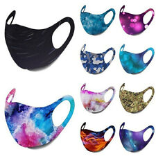 Mens Funny Washable Facemask Half Face Mouth Mark HipHop Cospaly Party One Size