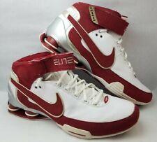Vintage Men's Nike Shox Elite Family Red/Silver/White 316904-162 Shoes - Size 14